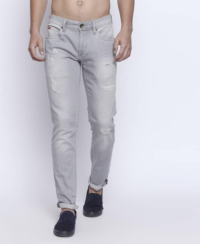 7da4c2a9 Lee Cooper by fbb Regular Men Grey Jeans - Buy Lee Cooper by fbb Regular Men  Grey Jeans Online at Best Prices in India   Flipkart.com