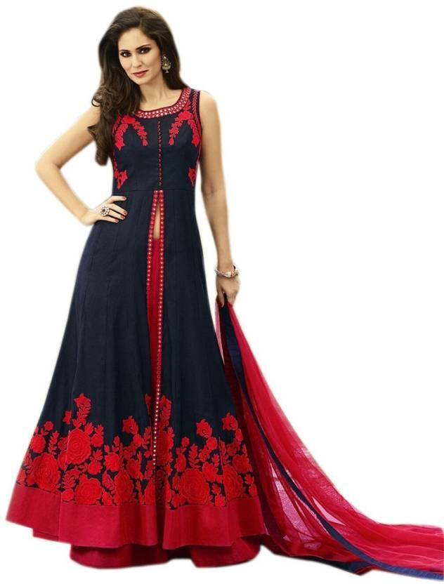 1aa719eda8bb SIXTEENCREATION Anarkali Gown Price in India - Buy SIXTEENCREATION ...