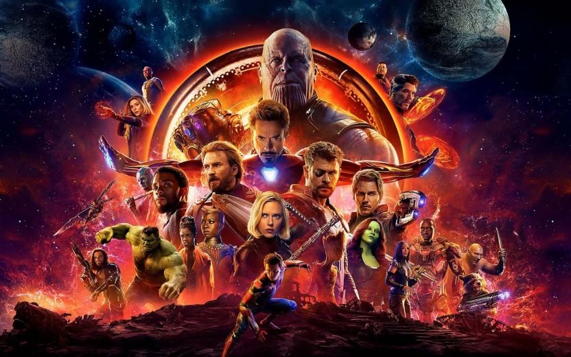 affiche Avengers: Infinity War 2017