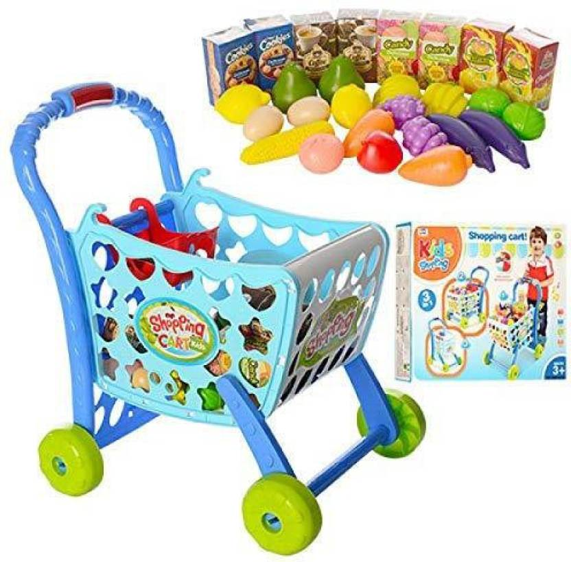 581d2c0f35ad2 Shrih 3 in 1 Kids Supermarket Shopping Cart Hand Induction with Light &  Sound - 3 in 1 Kids Supermarket Shopping Cart Hand Induction with Light &  Sound . ...