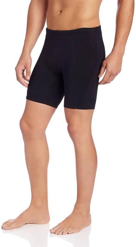 5c7018462a Lycot Solid Men Black Swim Shorts - Buy Lycot Solid Men Black Swim ...