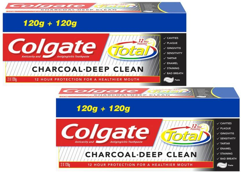 6f109c2b8 Colgate Total Charcoal Deep Clean Toothpaste Toothpaste - Buy Baby ...