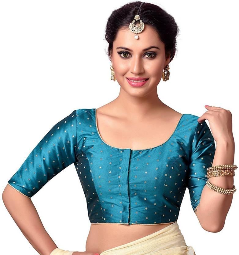 76c37cde3dc0c4 Xomantic Fashion Round Neck Women s Stitched Blouse - Buy Xomantic Fashion  Round Neck Women s Stitched Blouse Online at Best Prices in India