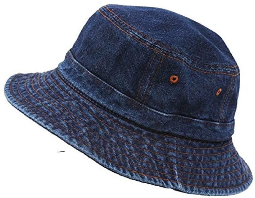 689ecc2ec26 H2Y denim jeans round cap blue Cap - Buy H2Y denim jeans round cap blue Cap  Online at Best Prices in India