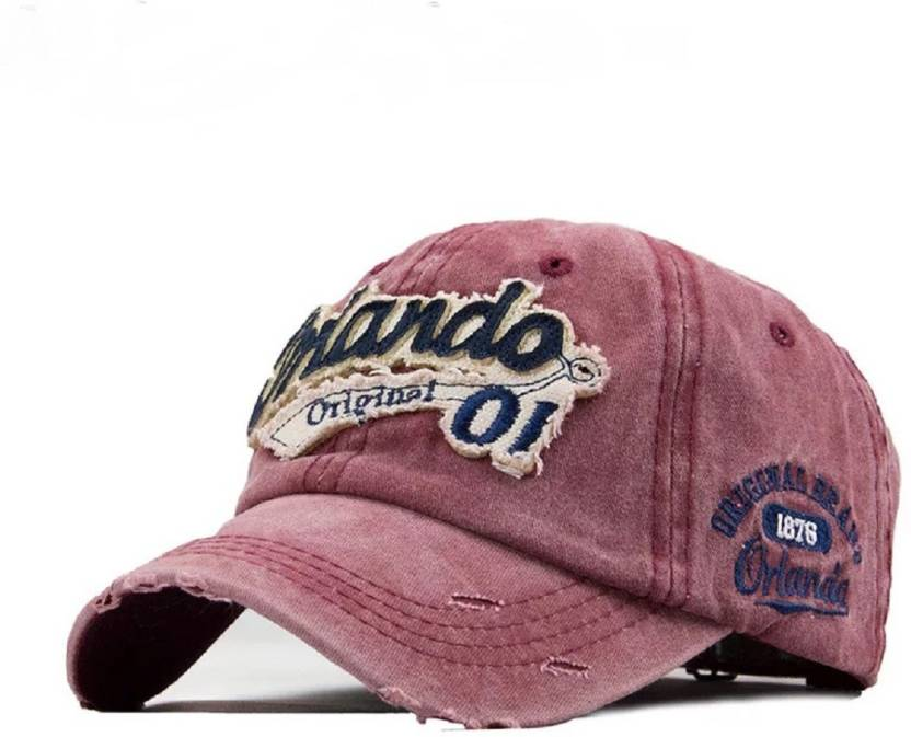 FAS Embroidered Orlando Men Baseball Caps Dad Casquette