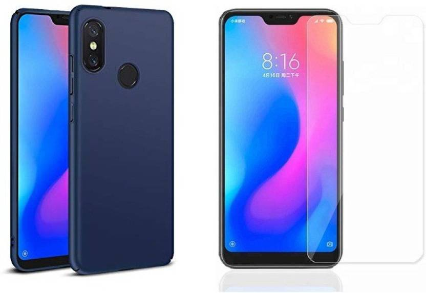 the latest 2536a 484cb Rkandroid Back Cover for redmi 6 pro back case plus Screen Guard ...