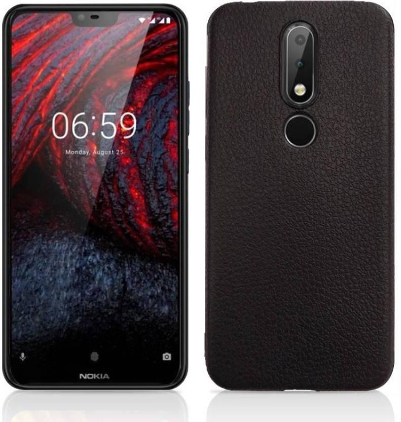 quality design 449c0 e3a5d Febelo Back Cover for Nokia 6.1 Plus