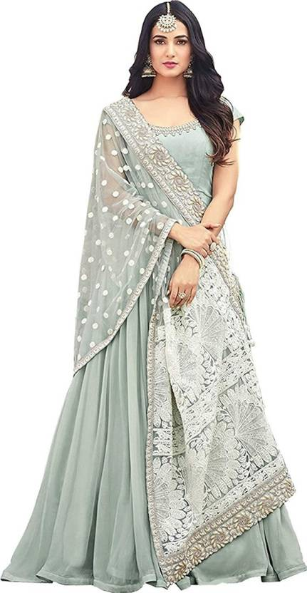 894eeca1708 MR CROZY Georgette Embroidered Semi-stitched Salwar Suit Dupatta Material  Price in India - Buy MR CROZY Georgette Embroidered Semi-stitched Salwar  Suit ...