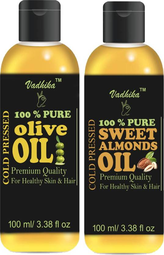Vadhika 100% Pure & Natural Cold Pressed Sweet Almond Oil