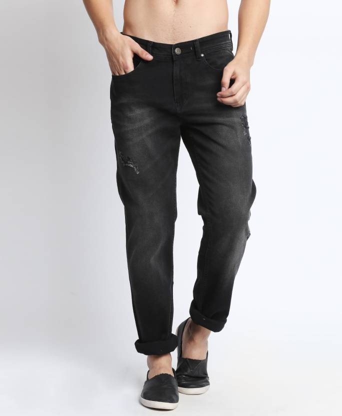 a2b26c9b Lee Cooper by FBB Regular Men Black Jeans - Buy Lee Cooper by FBB Regular  Men Black Jeans Online at Best Prices in India   Flipkart.com