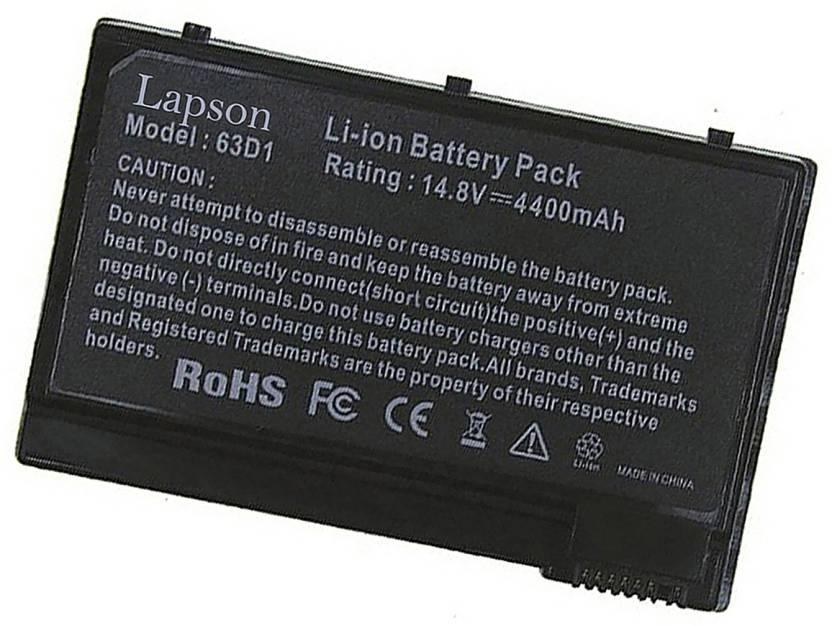 Lapson C302 6 Cell Laptop Battery - Lapson : Flipkart com