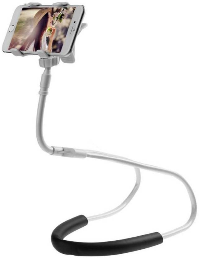 BUY SURETY Flexible Mobile Phone Holder Lazy Neck Phone Stand for Smartphone 360 Degree Rotation Mobile