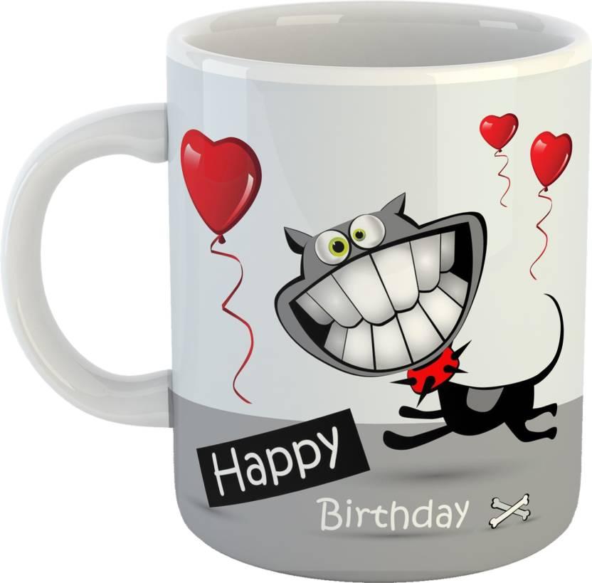 Teebuddy Happy Birthday Billa Friend Style Ceramic Tea And Coffee