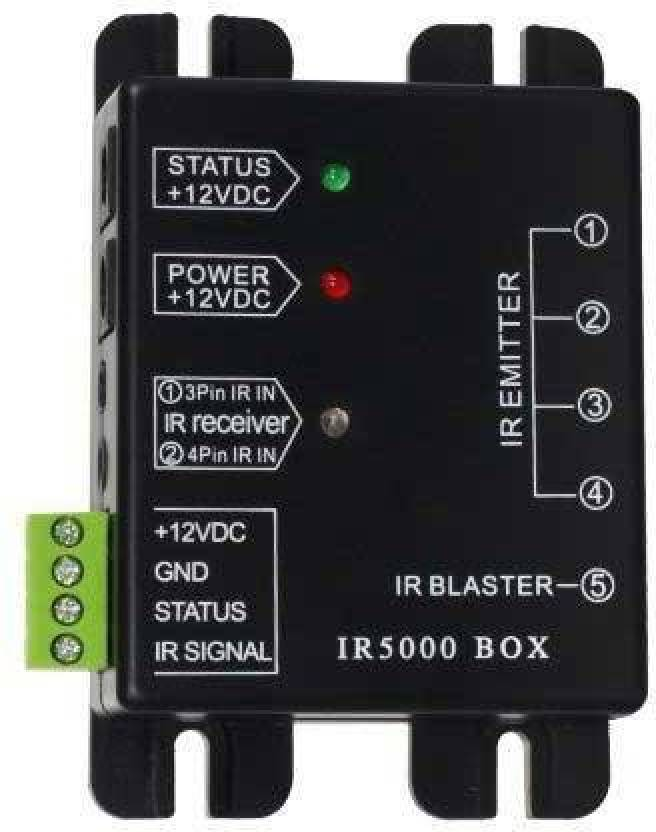 Tobo IR5000 Repeater System - Hidden IR Control System for Home