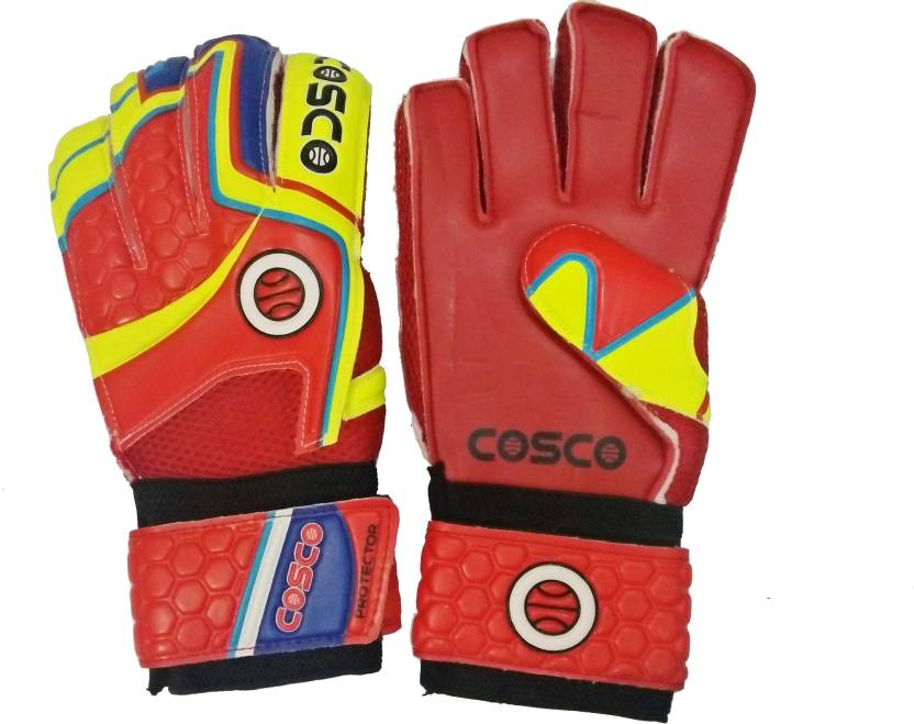 Cosco 'Protector'  Size Large  Goalkeeping Gloves Multicolor