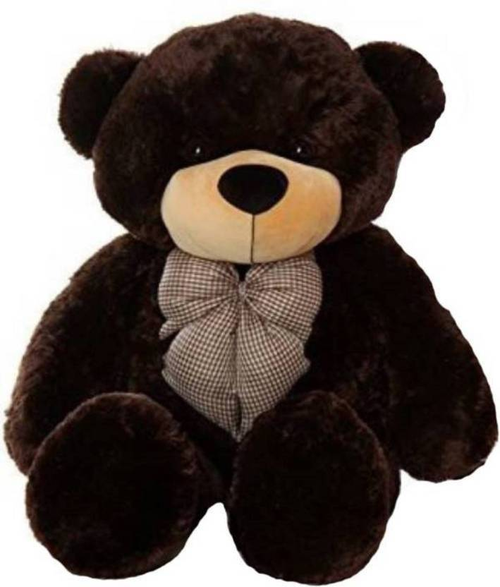 GN Enterprises 4 Feet Jumbo Stuffed Spongy Cute & Soft Teddy