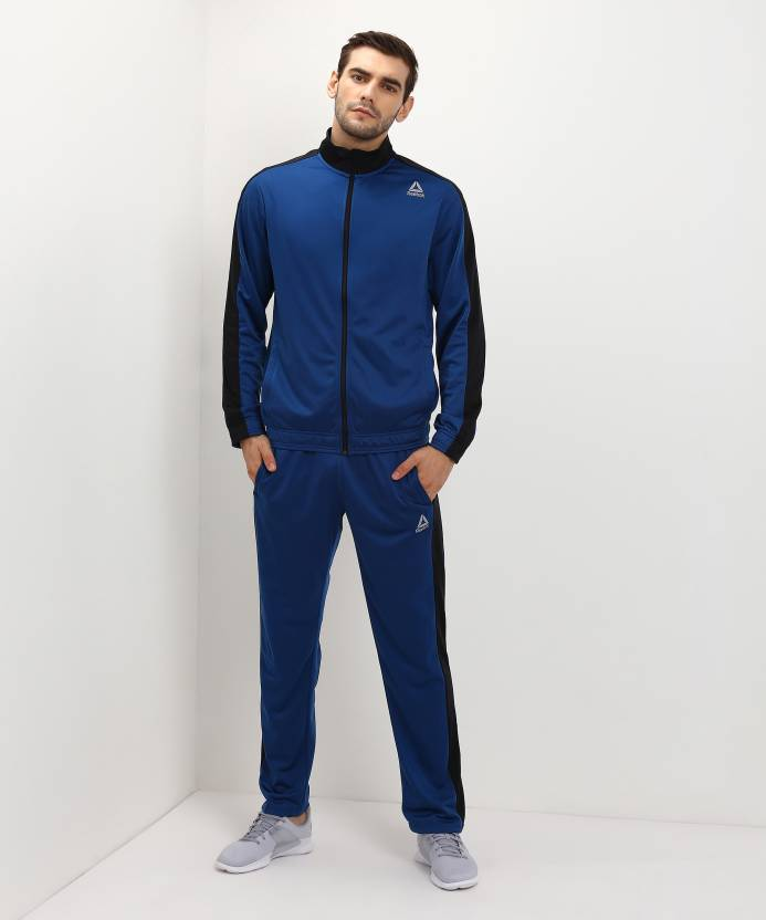 99499337d245 REEBOK Solid Men Track Suit - Buy REEBOK Solid Men Track Suit Online at  Best Prices in India