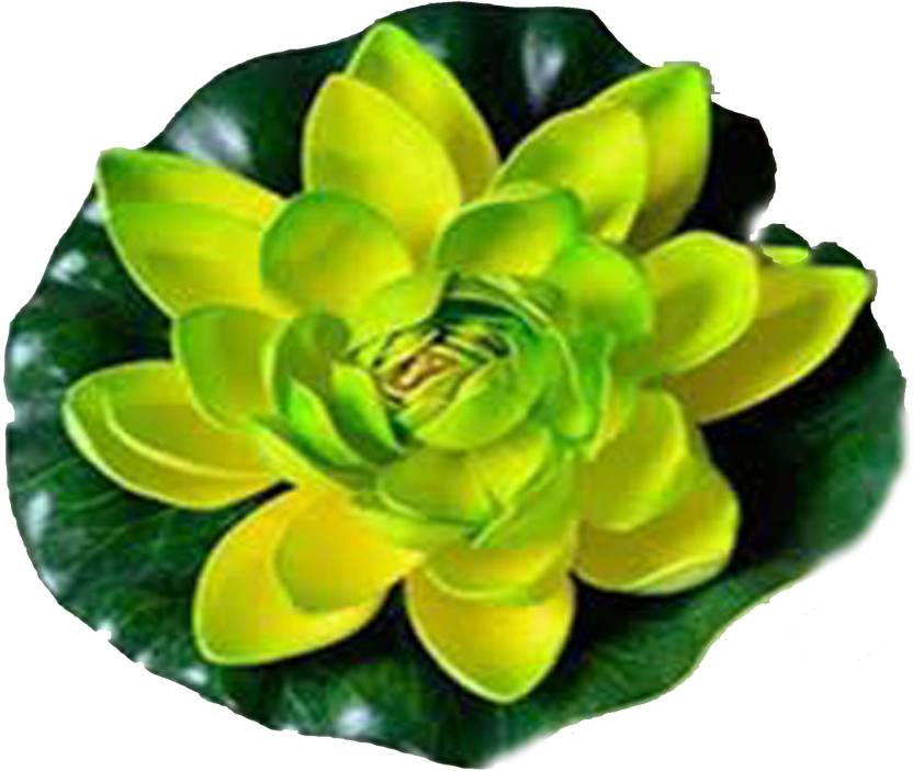 Hug Me Hug Me Home Decorates Floating Lotus Flower 7 Inch Pack Of