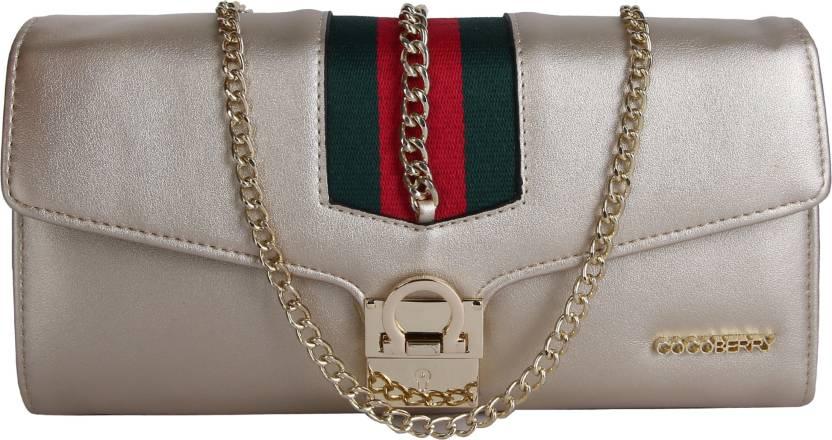 af4ff93e48 Buy Cocoberry Sling Bag Gold Online @ Best Price in India | Flipkart.com