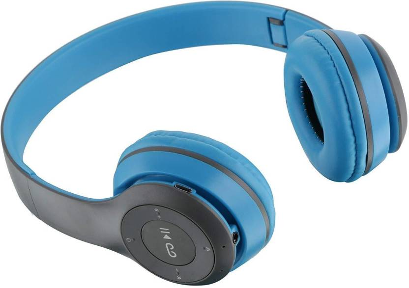 spincart Bluetooth Headphones with FM Radio Function Micro