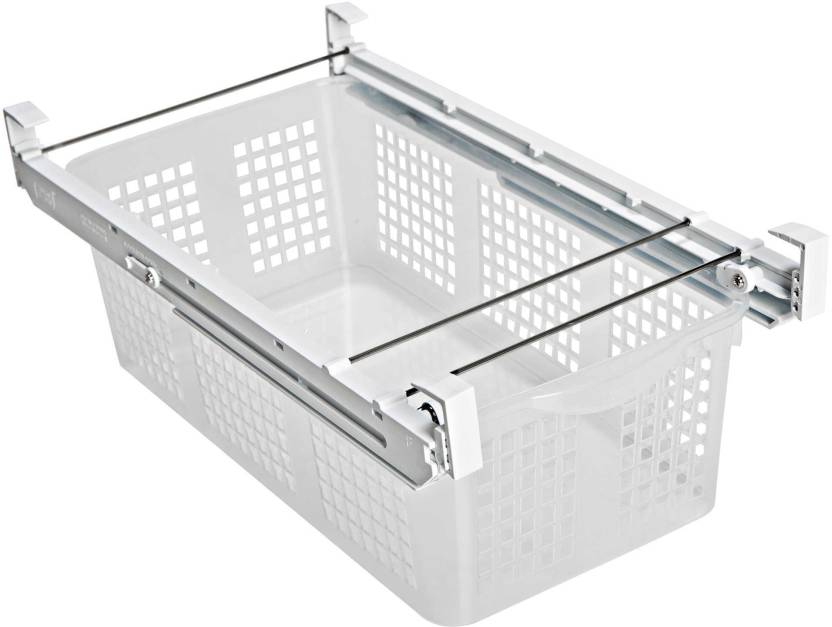 Simxen Refrigerator Pull Out Bin Storage Sliding Drawer