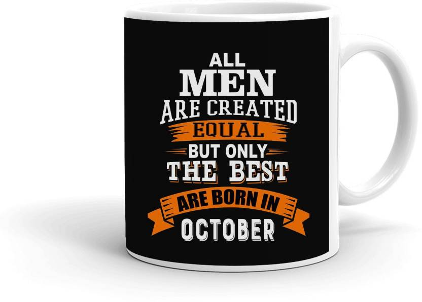 Mugkin Oct197 Best Man Are Born In October Best Birthday Gift For