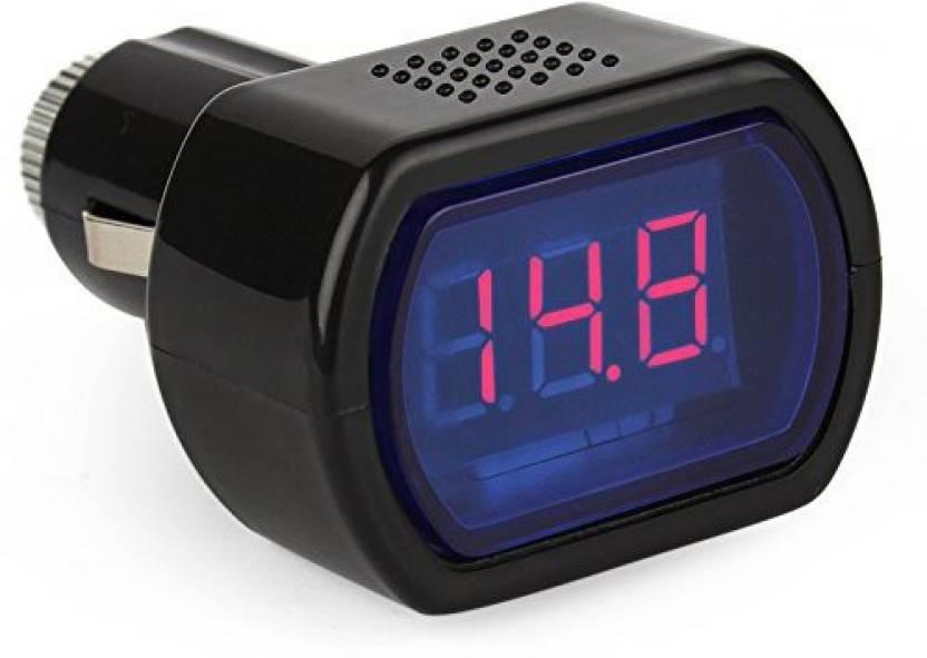 Divinezon Battery Voltage Digital Gauge Electric Meter Tester