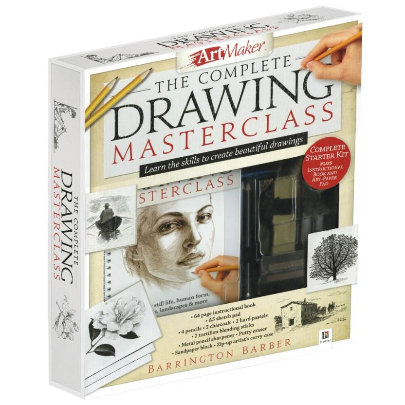 The Complete Drawing Masterclass : Learn the Skills to