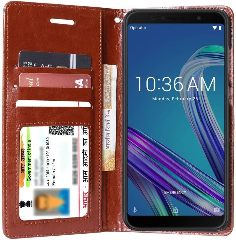 Flipkart SmartBuy Flip Cover for Asus Zenfone Max Pro M1
