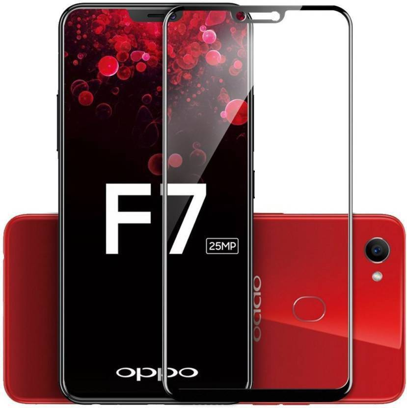 SpectraDeal Tempered Glass Guard for OPPO F7 - SpectraDeal