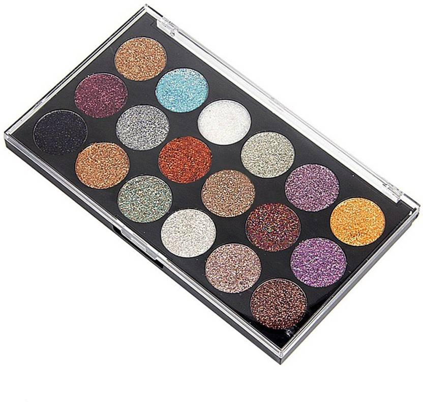 miss rose 18 Colors Glitter Smoked Makeup Multicolor