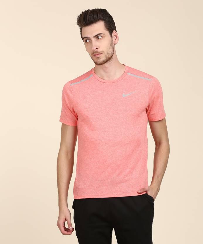 bfb8acfc7 Nike Self Design Men Round Neck Orange T-Shirt - Buy Nike Self Design Men  Round Neck Orange T-Shirt Online at Best Prices in India | Flipkart.com
