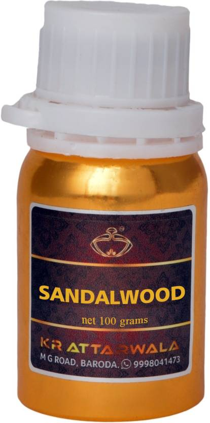Kr Attarwala Sandalwood Attar (Sukhad Chandan Sandal Wood) Pure