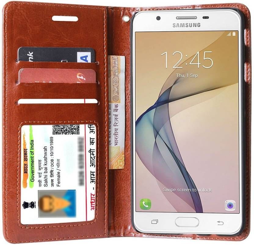 buy popular 75e91 237e3 Unistuff Flip Cover for Samsung Galaxy J7 Prime
