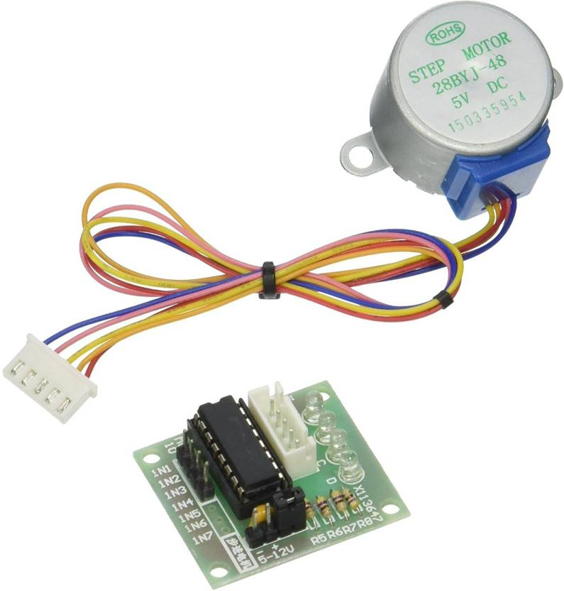 xcluma ULN2003 Stepper Motor Driver Board + 5V Stepper Motor