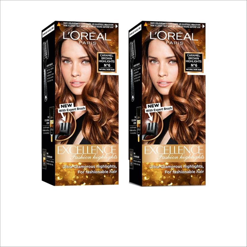 Loreal Paris Excellence Fashion Highlights Hair Color Pack Of Two