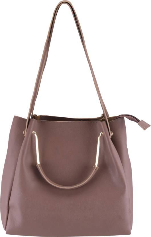 acbcaf22ff15 Buy AIZAH Shoulder Bag MAUVE Online   Best Price in India