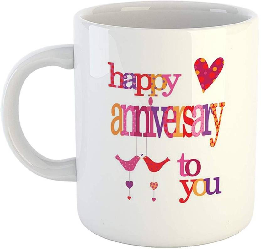 Ikraft Special Couple Quotes Coffeemug Happy Anniversary Love