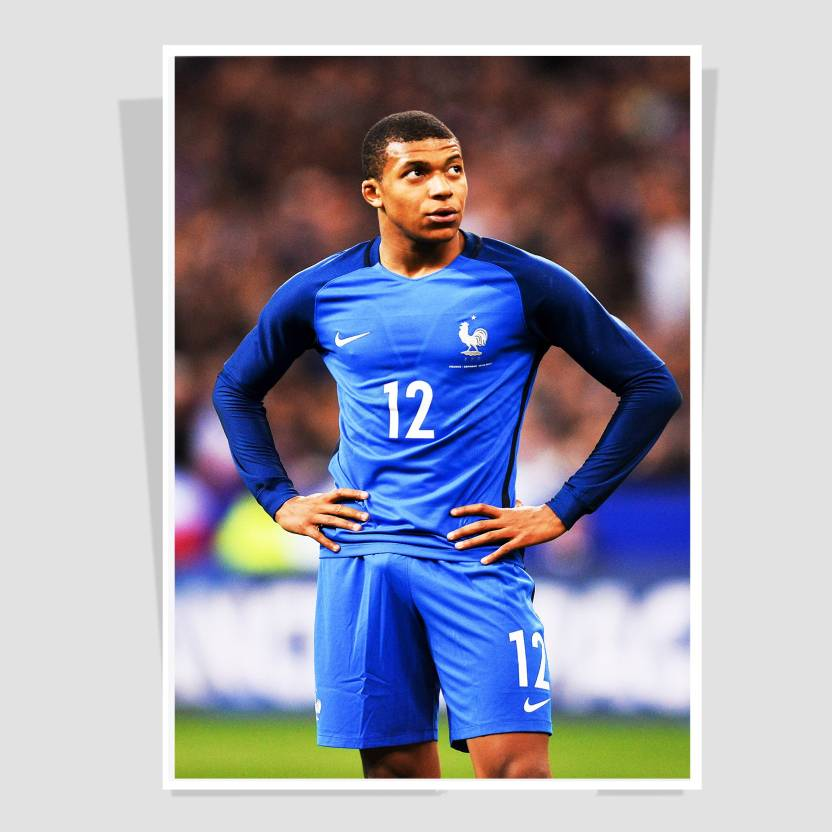 Mbappe Wall Poster Collection For Office Decor Room12 X