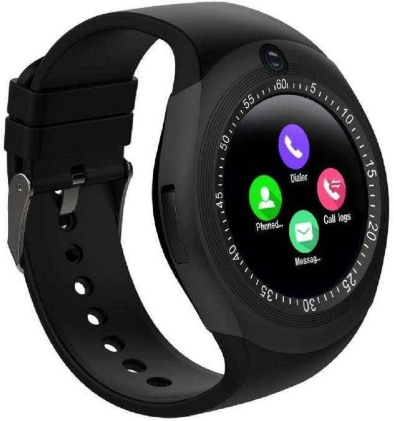1b7ce5a279 FSF Y1 SMART WATCH BLACK Smartwatch Price in India - Buy FSF Y1 ...