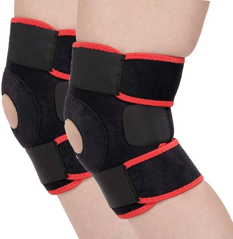 ac04f2b565 GymWar Knee Support, Adjustable Knee Support, Supports, Knee cap, Knee  Brace Knee Support (Free Size, Black, Red) - Buy GymWar Knee Support, Adjustable  Knee ...