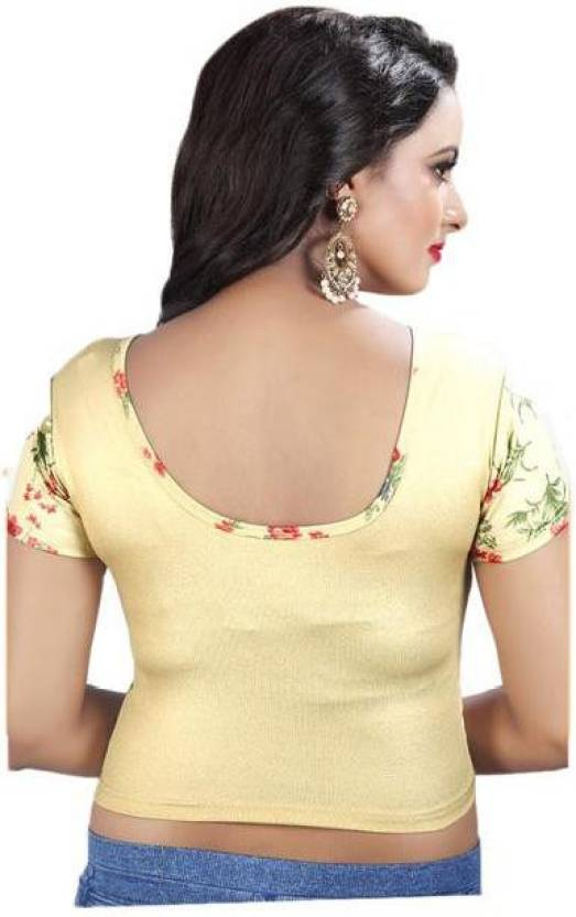 974b200cef329 Gogurl U-Neck Women Stitched Blouse - Buy Gogurl U-Neck Women Stitched  Blouse Online at Best Prices in India