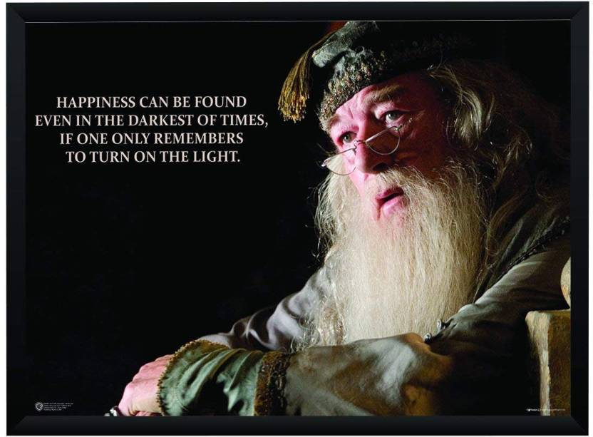 Wb Official Licensed Harry Potter Albus Dumbledore Happiness Quote