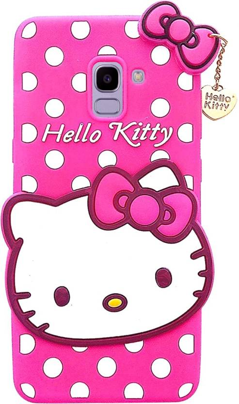 super popular 921d3 0a67a COVERNEW Back Cover for Samsung Galaxy J6 Kitty -SM-J600GZBGINS