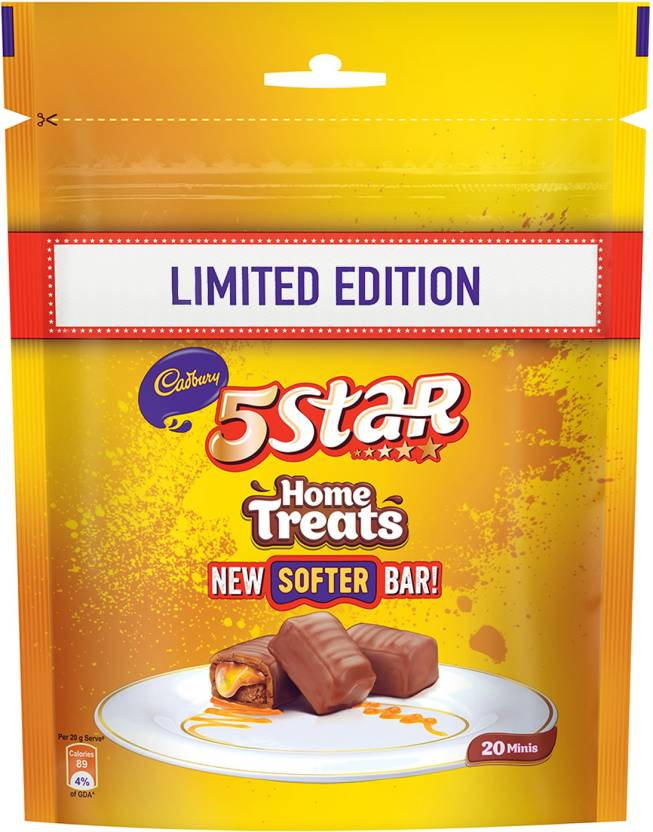 Cadbury 5 Star Chocolate Home Treats Limited Edition 5c6ba5067f