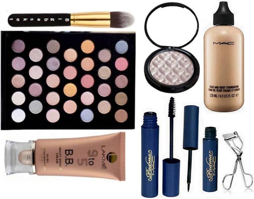 big Basket Makeup Brush, 32 shade Eyeshadow palette, Face and Body Foundation, padma