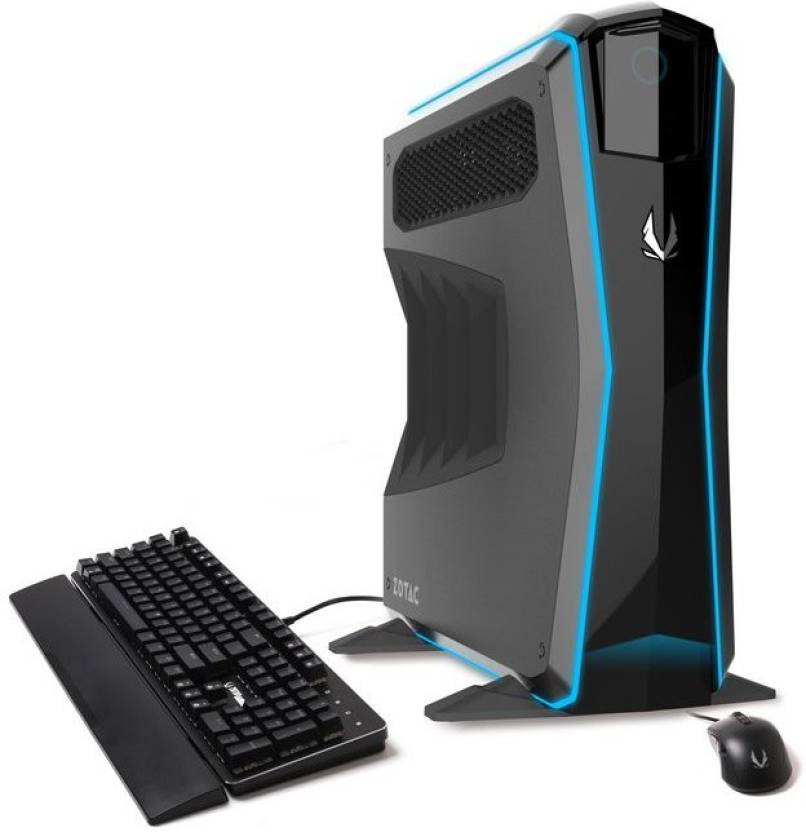 ZOTAC MEK1 Gaming PC Black (Bundled with Keyboard and Mouse) (GTX