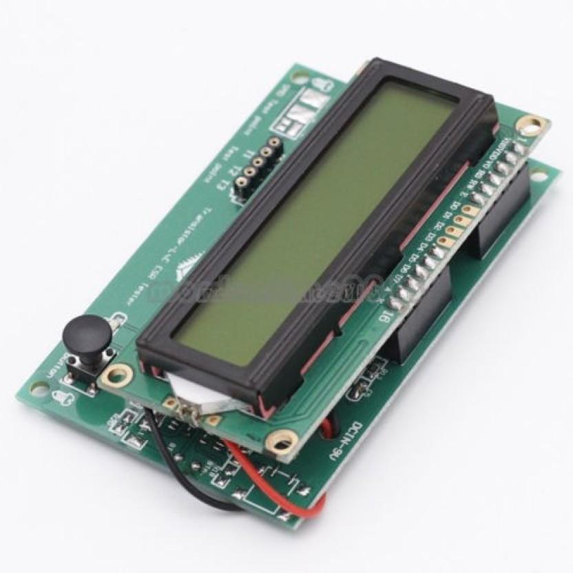 arduino esr meter premium androidarduino m051 lcd1602 transistor tester esr meter inductance