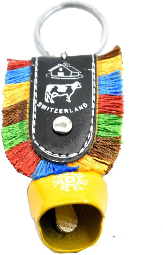 Faynci Cow Bell Yellow Key Chain for Gifting Key Chain Price in