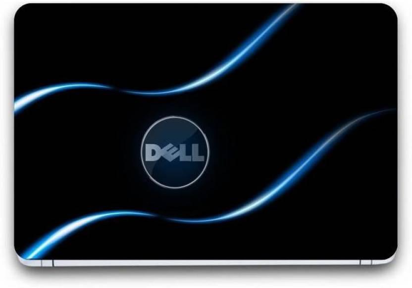 PUNIX Dell Wallpaper Exclusive Laptop Skin Sticker Decal Wallpaper (15 Inch x 10 Inch)